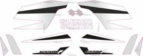 Комплект наклеек SUZUKI GS-500-F 2005