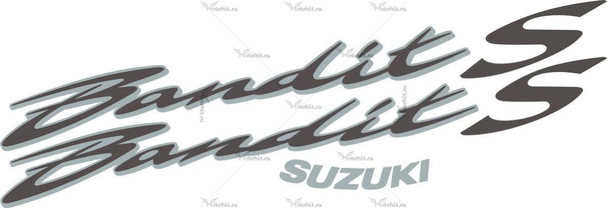 Комплект наклеек SUZUKI BANDIT-S 2007