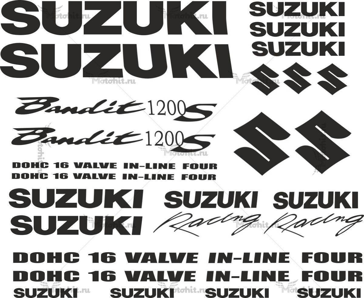Комплект наклеек SUZUKI GFS-1200-S-BANDIT 24-STICKER
