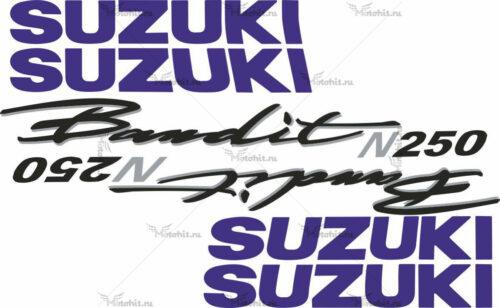 Комплект наклеек SUZUKI GSF-250-N