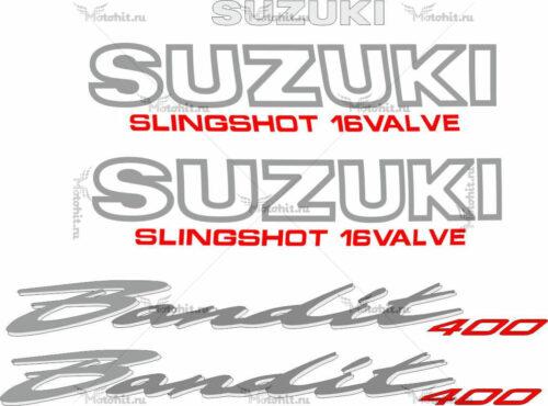 Комплект наклеек SUZUKI GSF-400 1989-1994 BANDIT