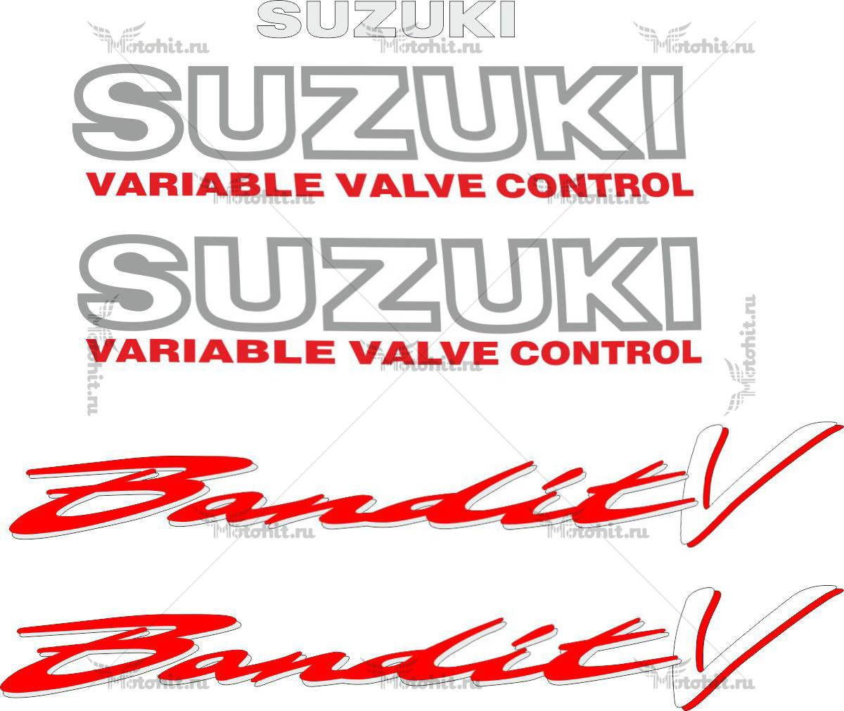 Комплект наклеек SUZUKI GSF-400-V 1989-1994 BANDIT