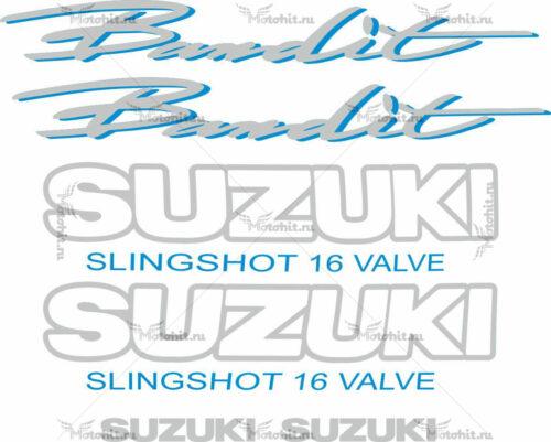 Комплект наклеек SUZUKI GSF-600 BANDIT