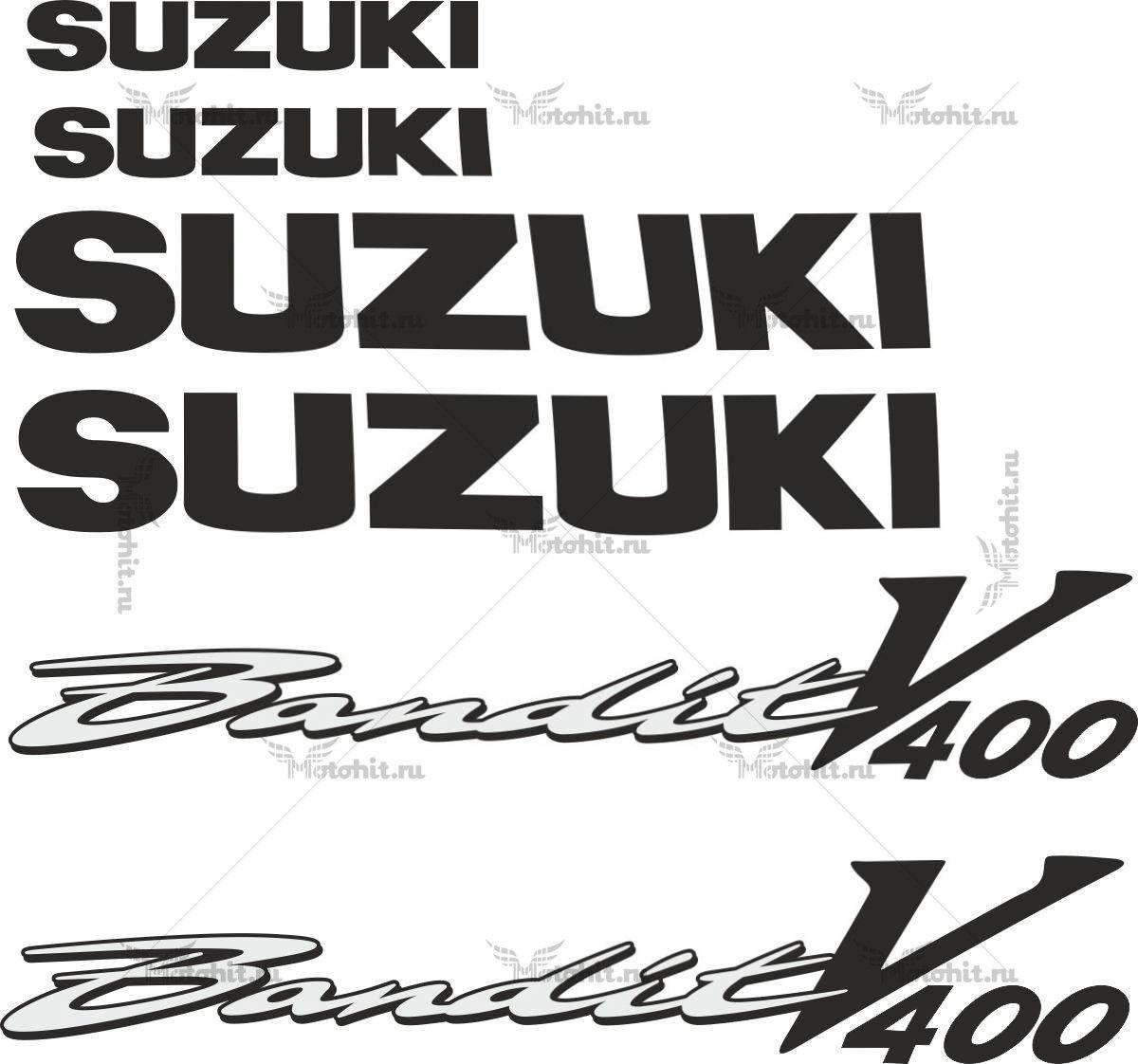 Комплект наклеек SUZUKI GSF-V-400 BANDIT