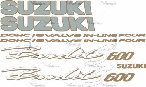 Комплект наклеек SUZUKI GSF-600-N 1997 BANDIT