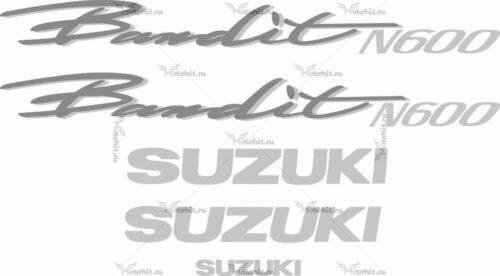Комплект наклеек SUZUKI GSF-600-N BANDIT