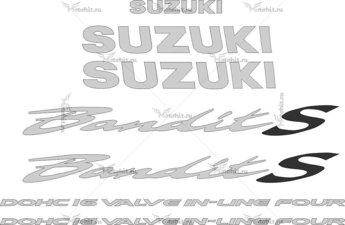 Комплект наклеек SUZUKI GSF-600-S 1995-2004 BANDIT
