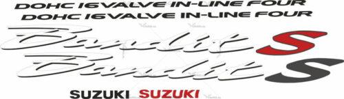 Комплект наклеек SUZUKI GSF-600-S 2002 BANDIT