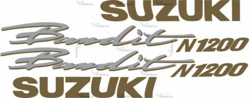 Комплект наклеек SUZUKI GSF-1200-N 1999
