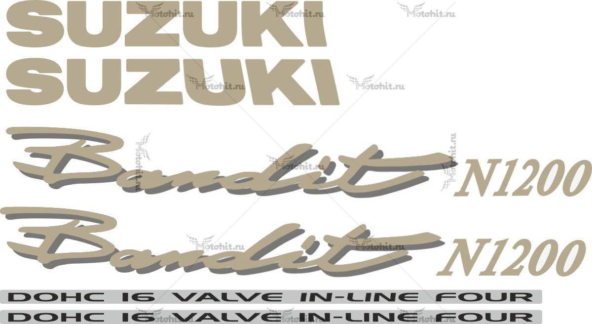 Комплект наклеек SUZUKI GSF-1200-N BANDIT