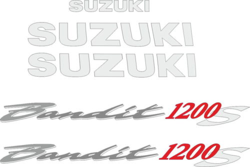 Комплект наклеек SUZUKI GSF-1200-S 1995-2006 BANDIT