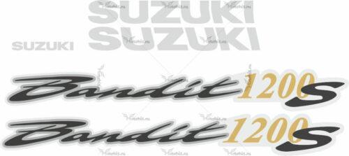 Комплект наклеек SUZUKI GSF-1200-S 2001-2005 BANDIT