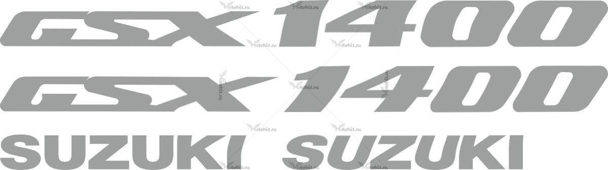 Комплект наклеек SUZUKI GSX-1400