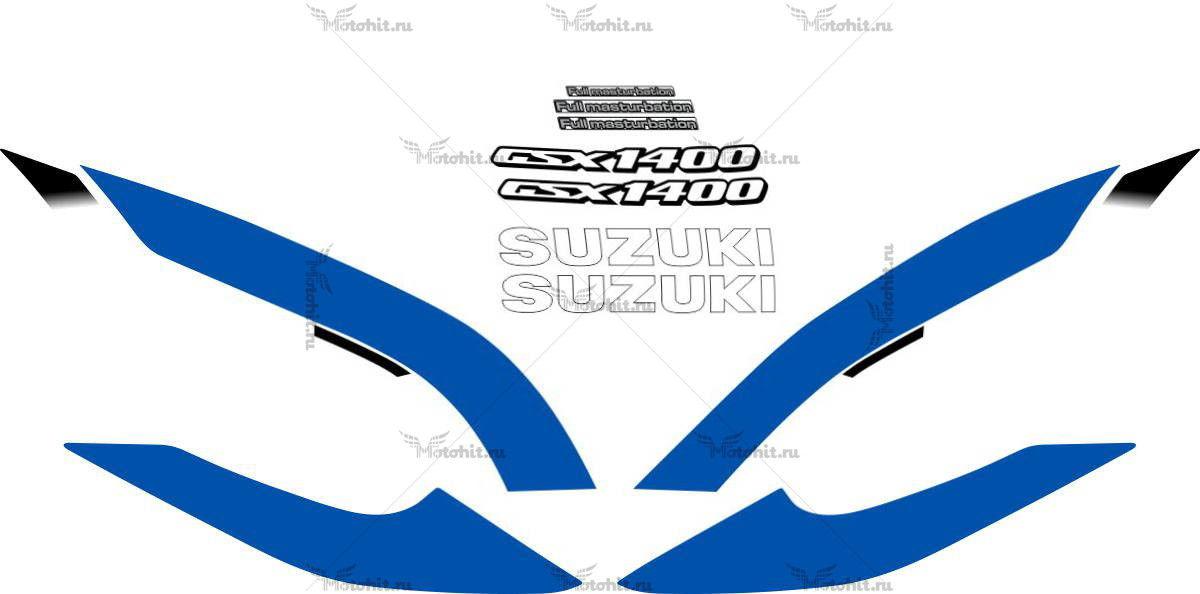 Комплект наклеек SUZUKI GSX-1400 2002-2003