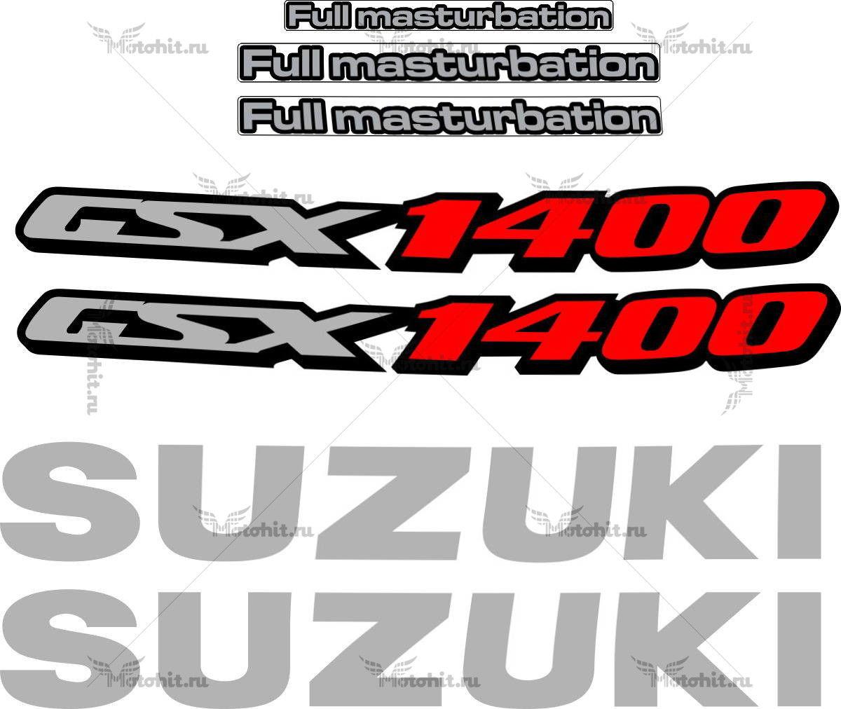 Комплект наклеек SUZUKI GSX-1400 2004