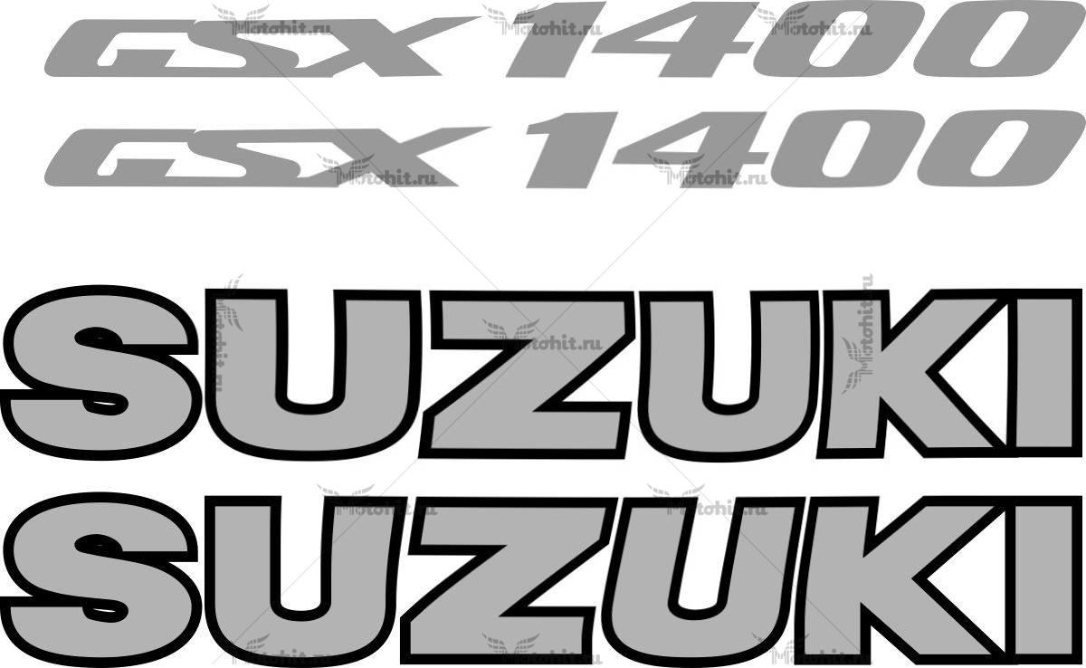 Комплект наклеек SUZUKI GSX-1400 2005