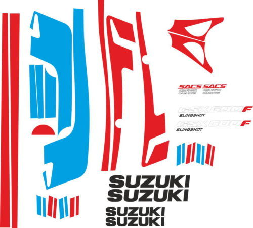 Комплект наклеек SUZUKI GSX-600-F