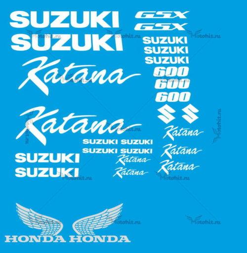 Комплект наклеек SUZUKI GSX-600 KATANA