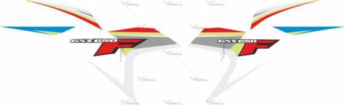 Комплект наклеек SUZUKI GSX-650-F 2008