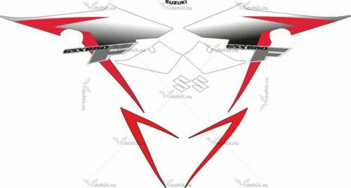 Комплект наклеек SUZUKI GSX-650-F 2010-2011