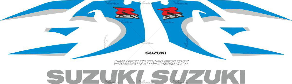 Комплект наклеек SUZUKI GSX-R-600 1999