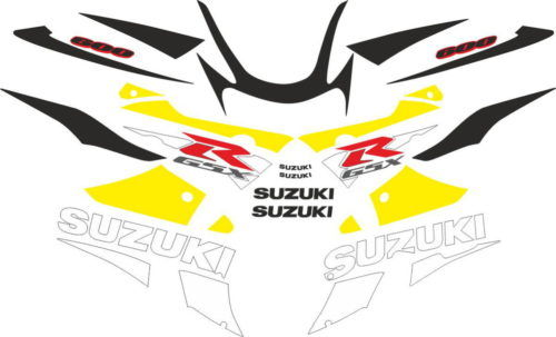 Комплект наклеек SUZUKI GSX-R-600 2001-2003