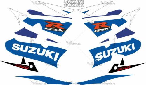 Комплект наклеек SUZUKI GSX-R-600 2003 BLUE