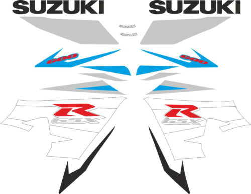 Комплект наклеек SUZUKI GSX-R-600 2004