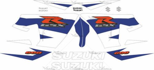 Комплект наклеек SUZUKI GSX-R-600 2004-2005