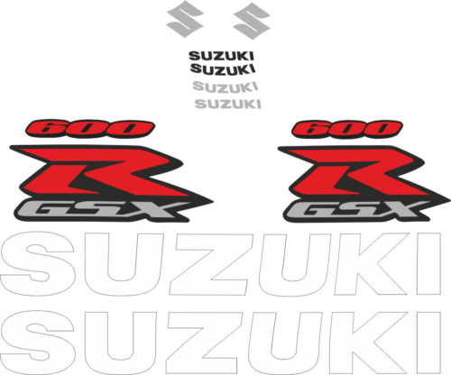 Комплект наклеек SUZUKI GSX-R-600 2004-2005 TXT