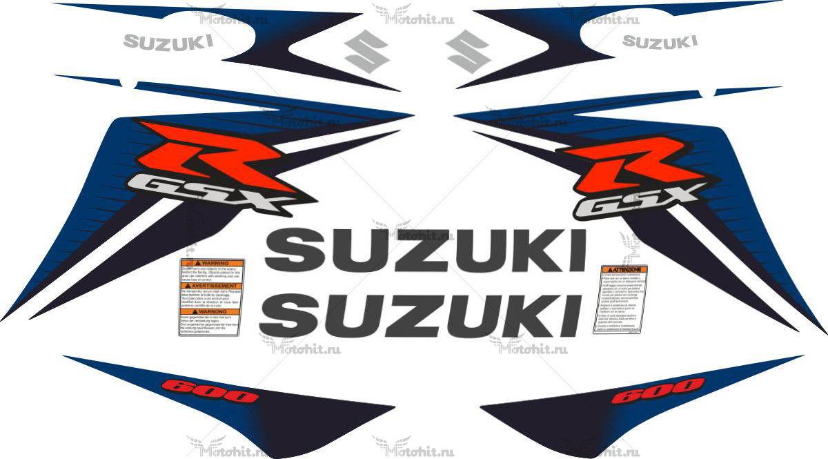 Комплект наклеек SUZUKI GSX-R-600 2011-2015
