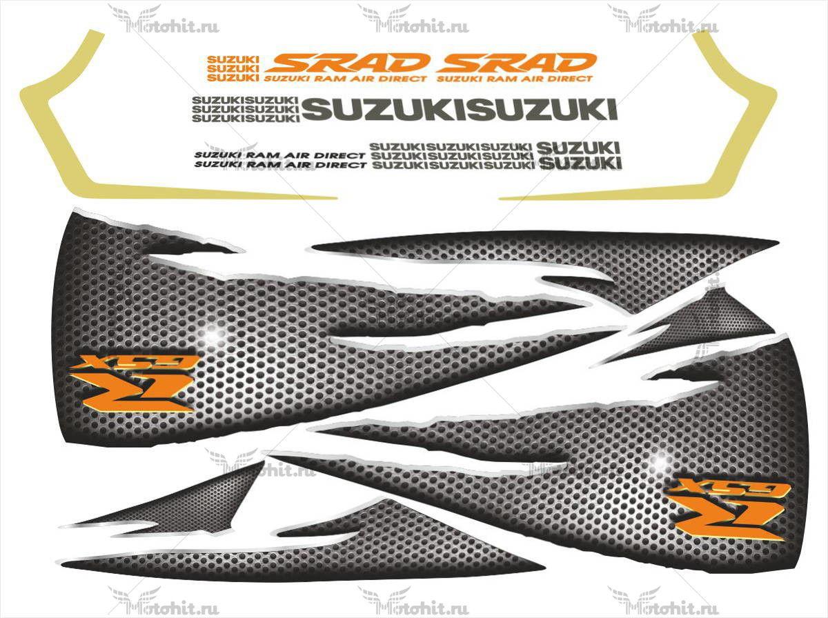 Комплект наклеек SUZUKI GSX-R-600 SRAD