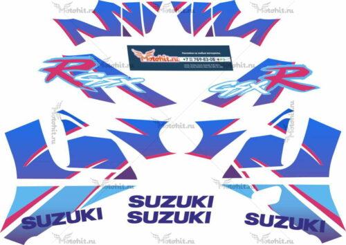 Комплект наклеек SUZUKI GSX-R-750 1992 FISH