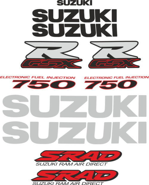 Комплект наклеек SUZUKI GSX-R-750 2000 SRAD
