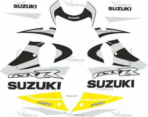 Комплект наклеек SUZUKI GSX-R-750 2001