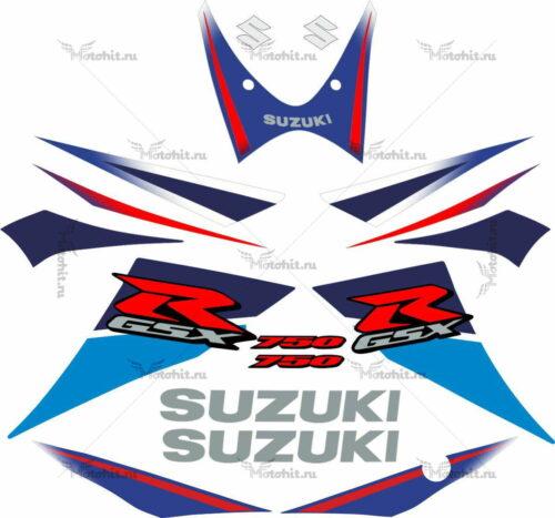 Комплект наклеек SUZUKI GSX-R-750 2007