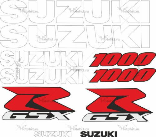 Комплект наклеек SUZUKI GSX-R-1000 2000