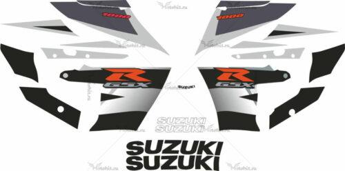 Комплект наклеек SUZUKI GSX-R-1000 2003-2004