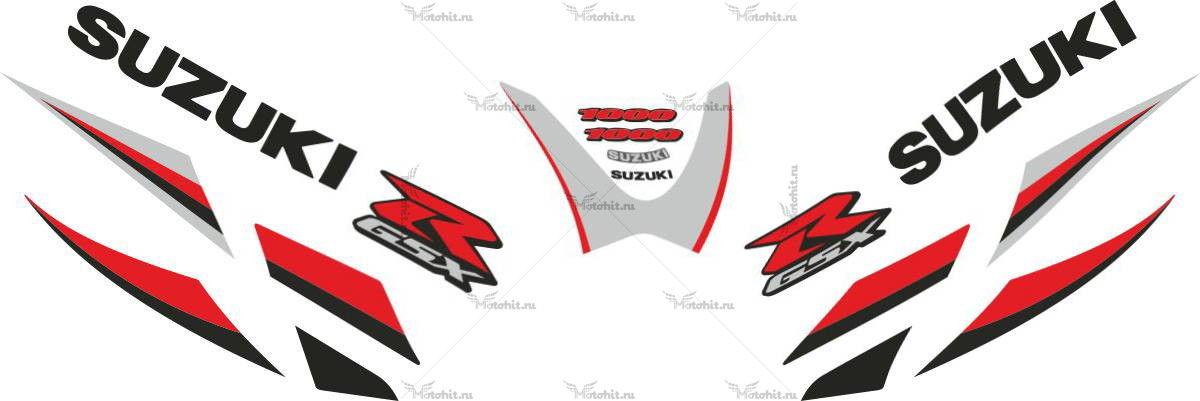 Комплект наклеек SUZUKI GSX-R-1000 2005