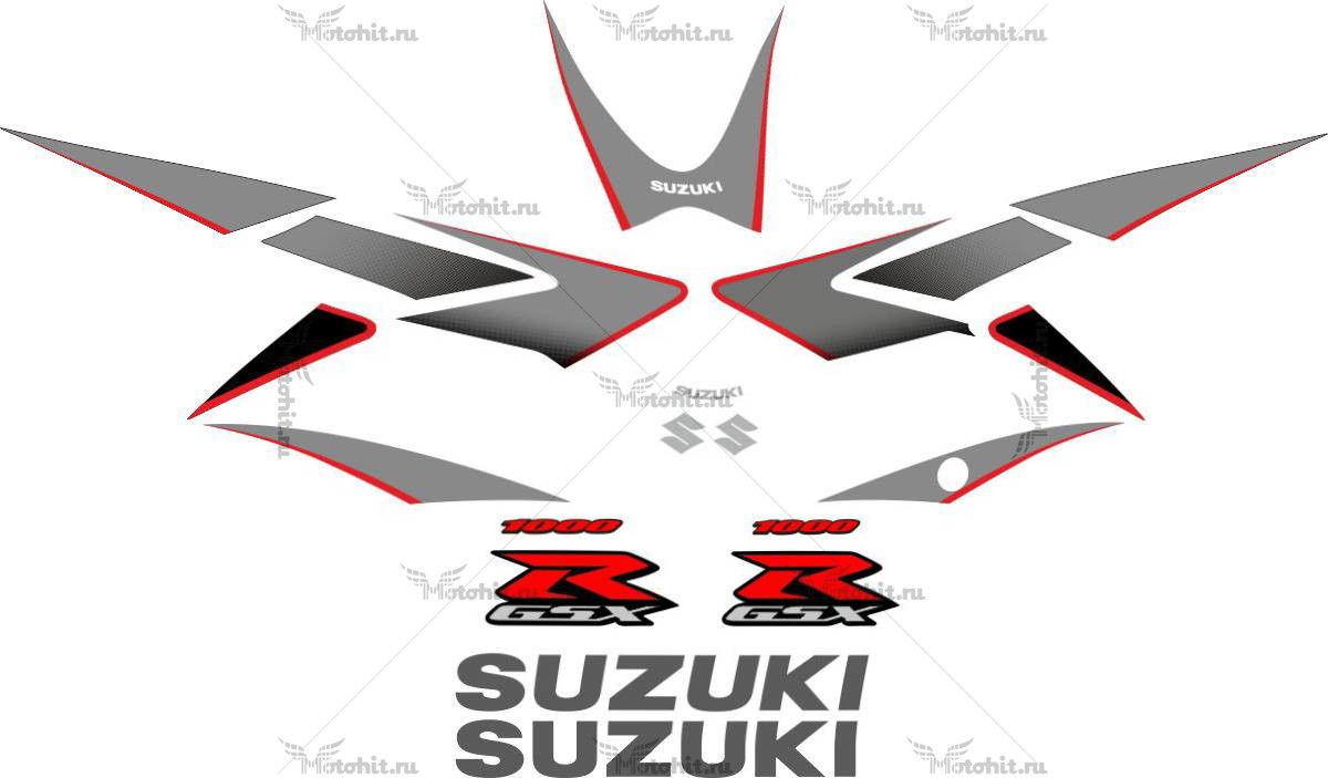 Комплект наклеек SUZUKI GSX-R-1000 2006-BLACK