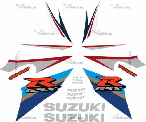 Комплект наклеек SUZUKI GSX-R-1000 2007-2