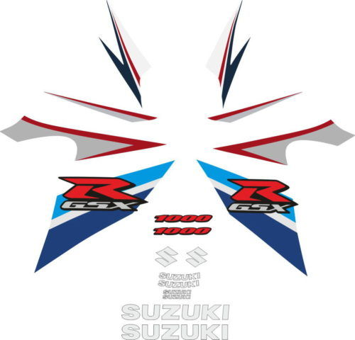 Комплект наклеек SUZUKI GSX-R-1000 2007-2008