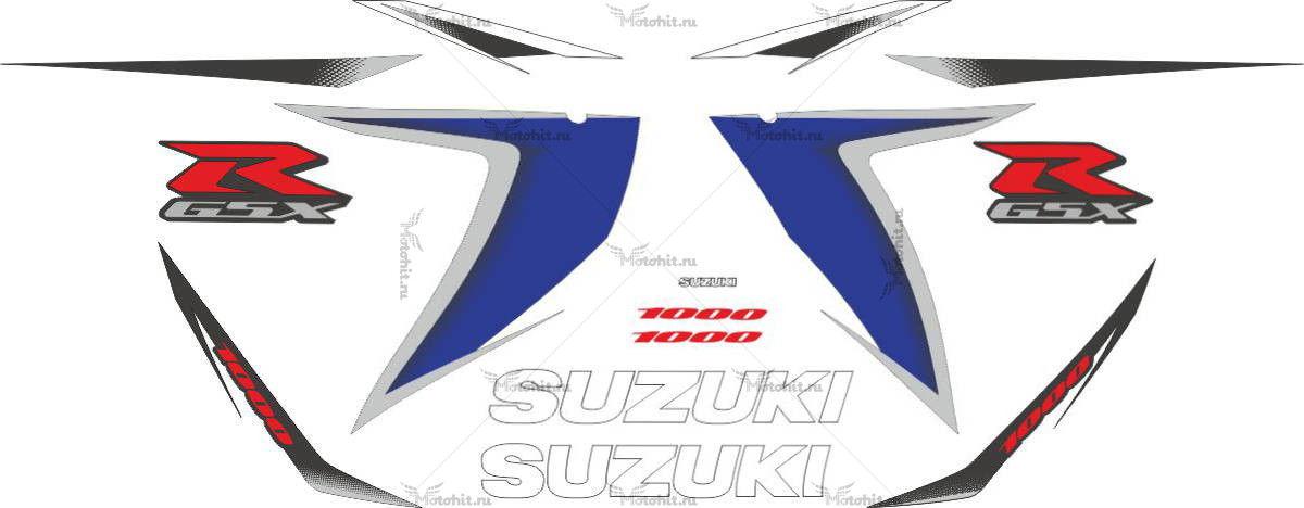 Комплект наклеек SUZUKI GSX-R-1000 2008