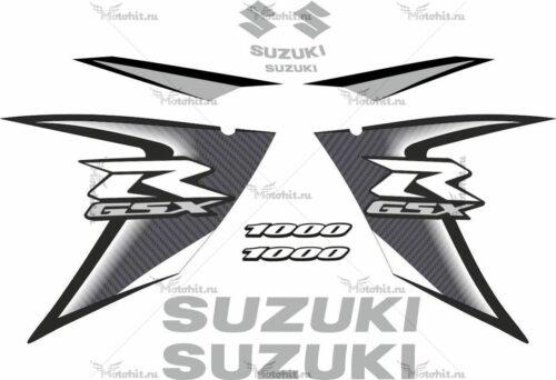 Комплект наклеек SUZUKI GSX-R-1000 2008 GRAY