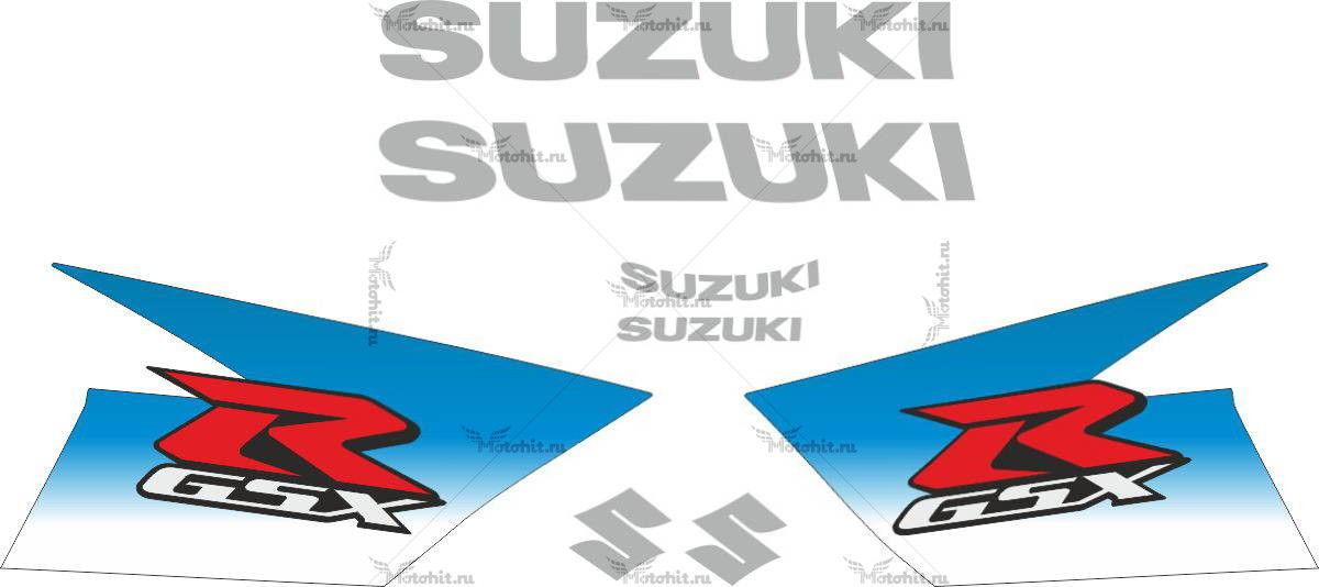Комплект наклеек SUZUKI GSX-R-1000 2010