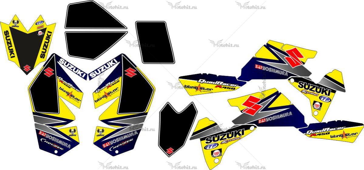 Комплект наклеек SUZUKI LTR-450 R