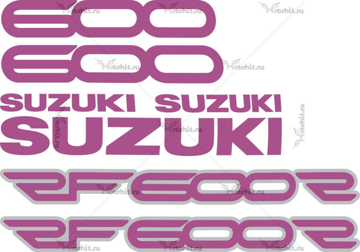 Комплект наклеек SUZUKI RF-600-R