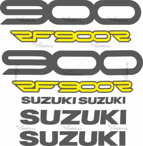 Комплект наклеек SUZUKI RF-900-R 1994-1998