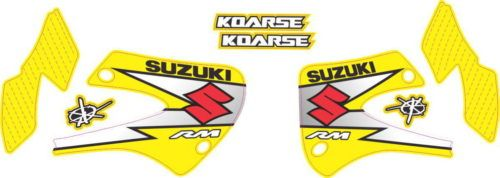 Комплект наклеек Suzuki RM-100 Yellow