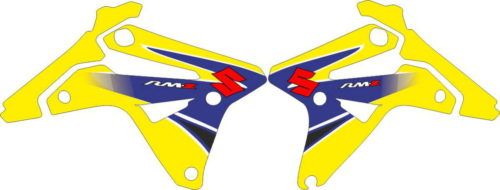 Комплект наклеек SUZUKI RMZ-450 2007